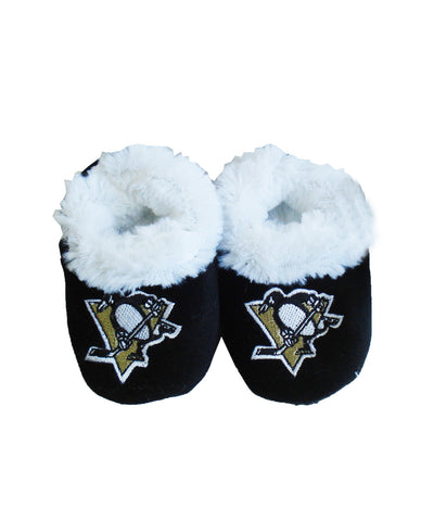 PITTSBURGH PENGUINS INFANT SLIPPERS