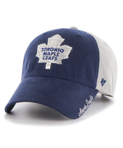 TORONTO MAPLE LEAFS SPARKLE TWO TONE WOMEN'S CAP