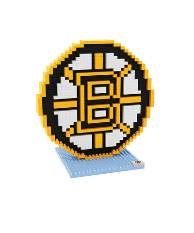 3D BRXLZ BOSTON BRUINS BUILDABLE TEAM LOGO