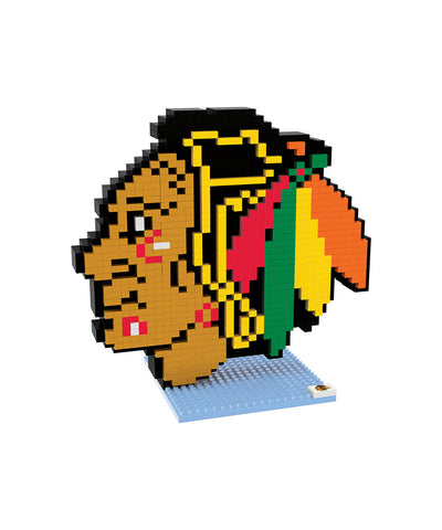 3D BRXLZ CHICAGO BLACKHAWKS BUILDABLE TEAM LOGO