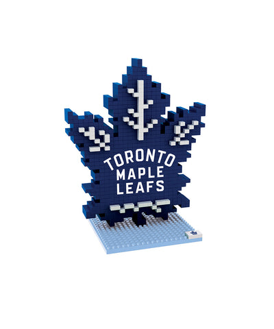 3D BRXLZ TORONTO MAPLE LEAFS BUILDABLE TEAM LOGO