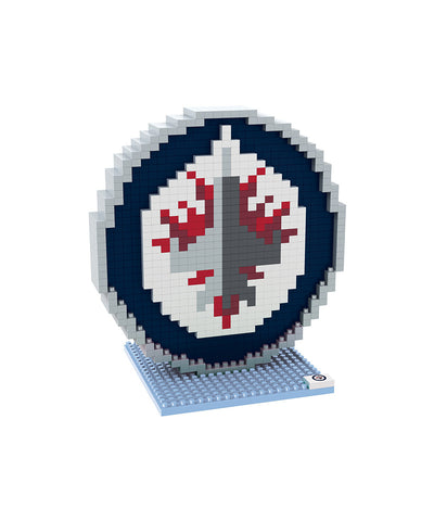 3D BRXLZ WINNIPEG JETS BUILDABLE TEAM LOGO