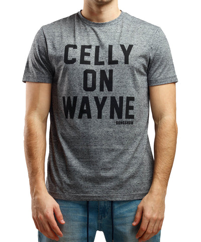 GONGSHOW CELLY ON WAYNE MEN'S T-SHIRT