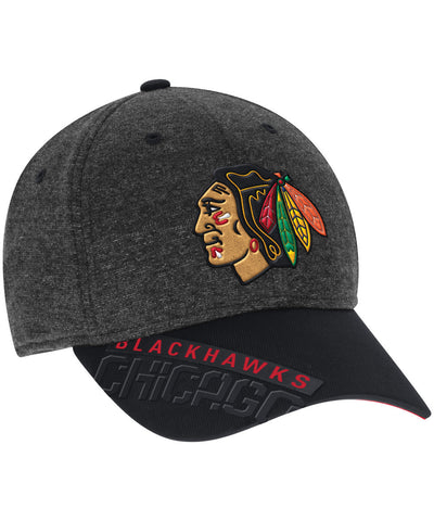 REEBOK CHICAGO BLACKHAWKS PLAYOFF 2016 SR CAP