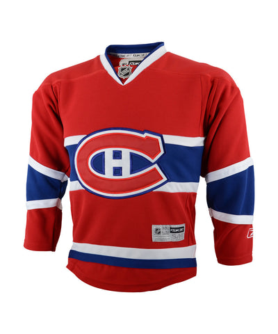 REEBOK MONTREAL CANADIENS JR HOME JERSEY