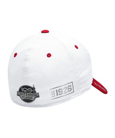 REEBOK DETROIT RED WINGS 2017 CC COACH TWO-TONE STR SR CAP