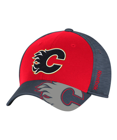 REEBOK CALGARY FLAMES PLAYOFF 2017 JR CAP