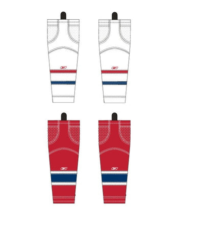 REEBOK EDGE MONTREAL JR HOCKEY SOCKS