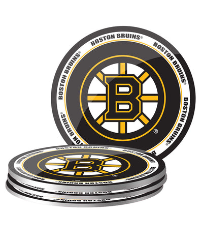 BOSTON BRUINS 4PK PVC COASTER SET