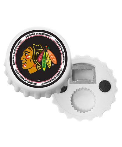 CHICAGO BLACKHAWKS BOTTLE CAP OPENER