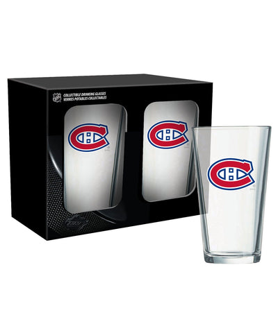 MONTREAL CANADIENS 2PK 16oz MIXING GLASS SET