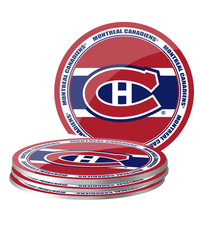 MONTREAL CANADIENS 4PK PVC COASTER SET