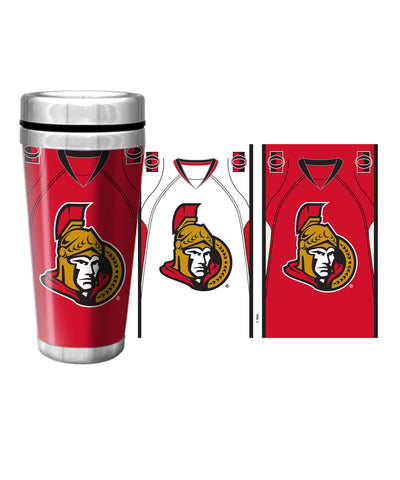 OTTAWA SENATORS 16oz JERSEY TRAVEL MUG