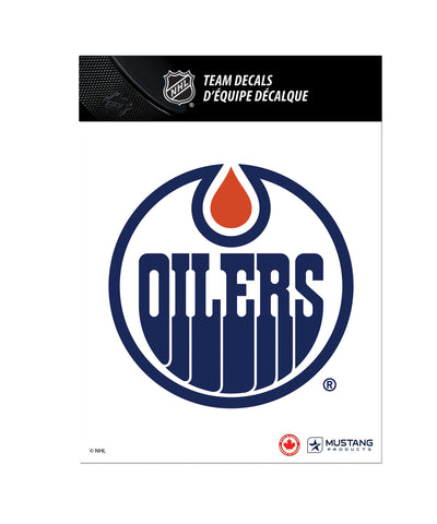 THE SPORTS VAULT EDMONTON OILERS TEAM DECAL