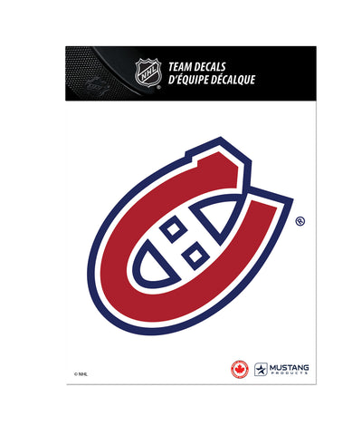THE SPORTS VAULT MONTREAL CANADIENS TEAM DECAL