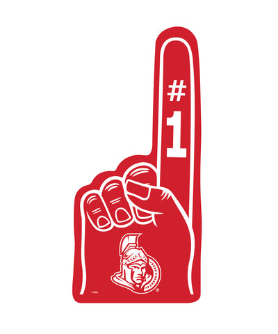 THE SPORTS VAULT OTTAWA SENATORS FOAM FINGER