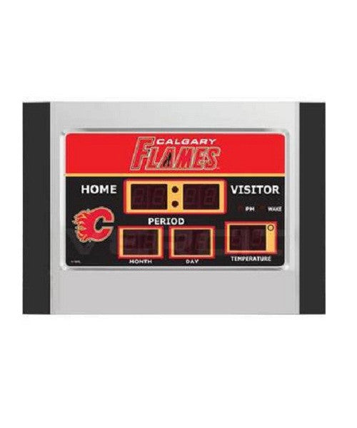 FLAMES SCOREBOARD LED ALARM CLOCK
