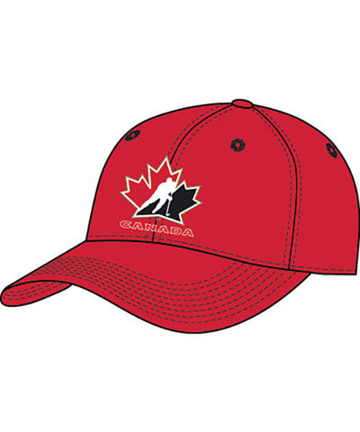 NIKE LEGACY 91 HOCKEY CANADA SR RED CAP