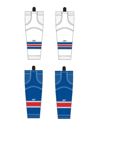 REEBOK EDGE NEW YORK JR HOCKEY SOCKS