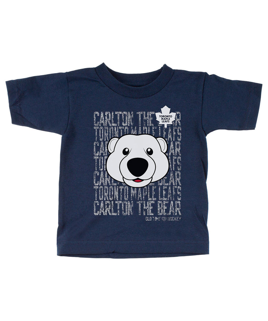 best cheap 7f199 c4168 OLD TIME HOCKEY TORONTO MAPLE LEAFS DAFTER MASCOT KIDS SHIRT