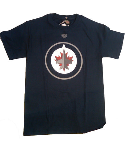OLD TIME BIG LOGO WINNIPEG JETS SR T-SHIRT