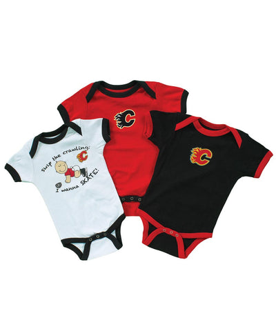 OLD TIME HOCKEY CALGARY FLAMES TRINKET CREEPER SET