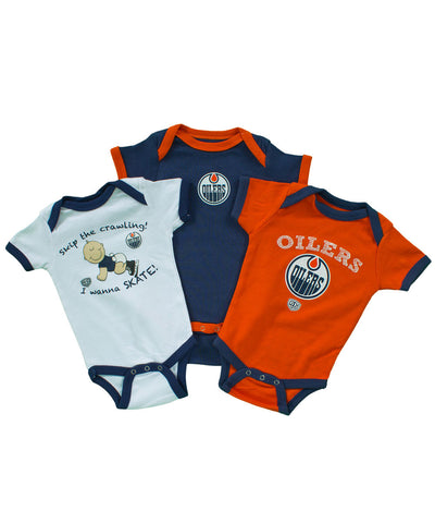 OLD TIME HOCKEY EDMONTON OILERS TRINKET CREEPER SET