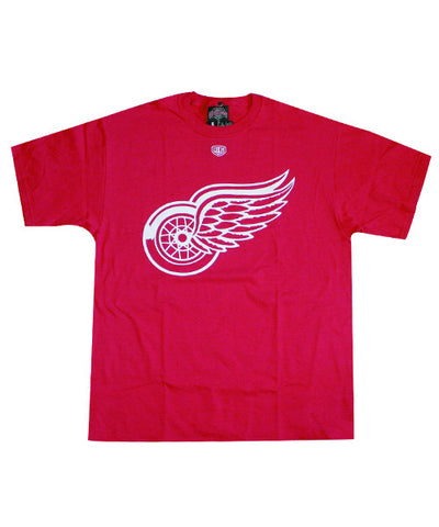 OLD TIME BIG LOGO DETROIT RED WINGS SR T-SHIRT