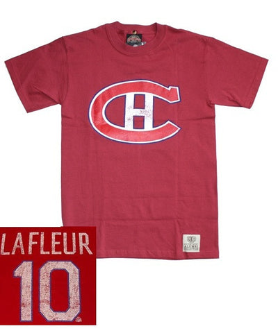 OLD TIME CANADIENS LAFLEUR #10 SR T-SHIRT