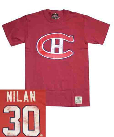 OLD TIME CANADIENS NILAN #30 SR T-SHIRT
