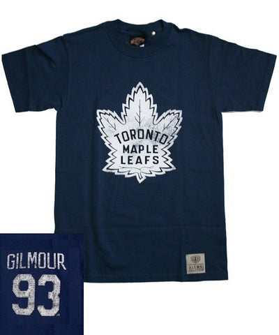 OLD TIME MAPLE LEAFS GILMOUR #93 SR T-SHIRT