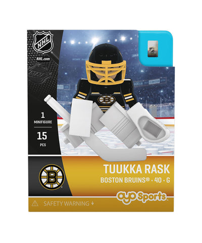 OYO SPORTS BOSTON BRUINS RASK GEN 3 MINIFIGURE
