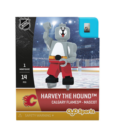 OYO SPORTS CALGARY FLAMES HARVEY THE HOUND GEN 3 MINIFIGURE