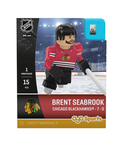 OYO SPORTS CHICAGO BLACKHAWKS SEABROOK GEN 3 MINIFIGURE