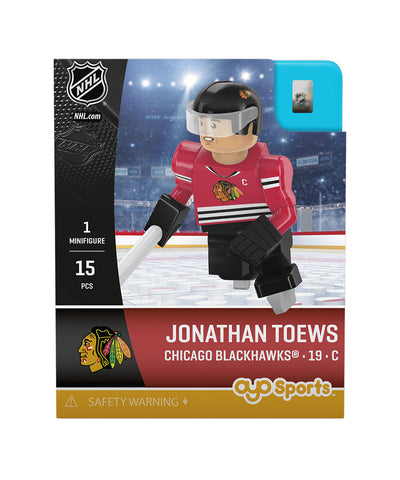 OYO SPORTS CHICAGO BLACKHAWKS TOEWS GEN 3 MINIFIGURE