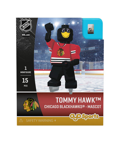 OYO SPORTS CHICAGO BLACKHAWKS TOMMYHAWK GEN 3 MINIFIGURE