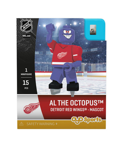 OYO SPORTS DETROIT RED WINGS AL THE OCTOPUS GEN 3 MINIFIGURE
