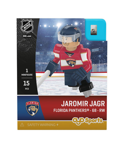 OYO SPORTS FLORIDA PANTHERS JAGR GEN 3 MINIFIGURE