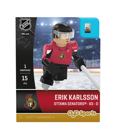 OYO SPORTS OTTAWA SENATORS KARLSSON GEN 3 MINIFIGURE