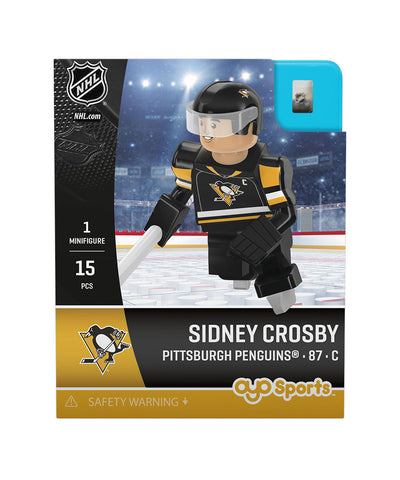 OYO SPORTS PITTSBURGH PENGUINS CROSBY GEN 3 MINIFIGURE