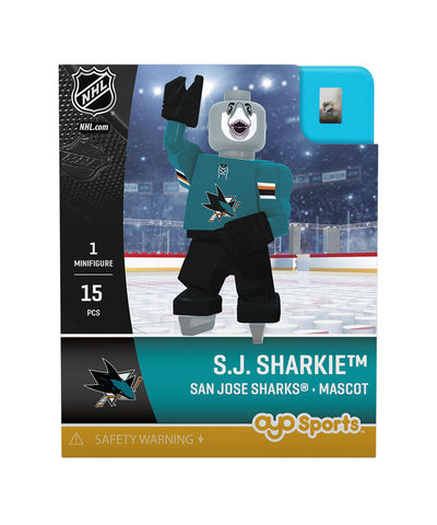 OYO SPORTS SAN JOSE SHARKS SHARKIE GEN 3 MINIFIGURE
