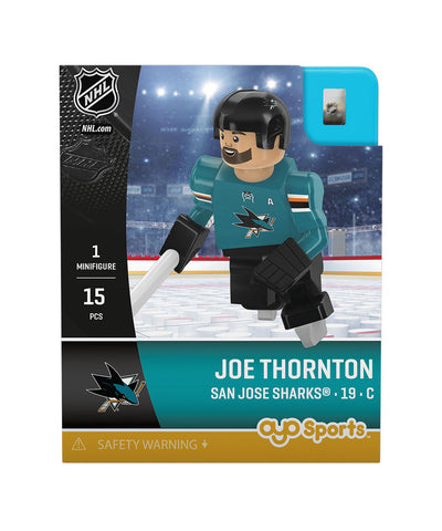OYO SPORTS SAN JOSE SHARKS THORNTON GEN 3 MINIFIGURE