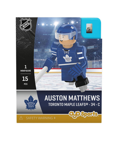 OYO SPORTS TORONTO MAPLE LEAFS MATTHEWS GEN 3 MINIFIGURE