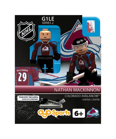 OYO SPORTS COLORADO AVALANCHE NATHAN MACKNINNON MINIFIGURE