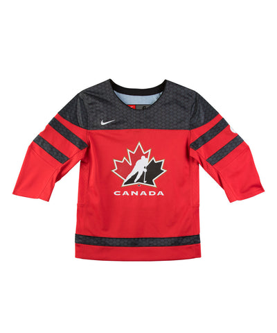 NIKE TEAM CANADA 2016 REPLICA HOCKEY RED YTH JERSEY