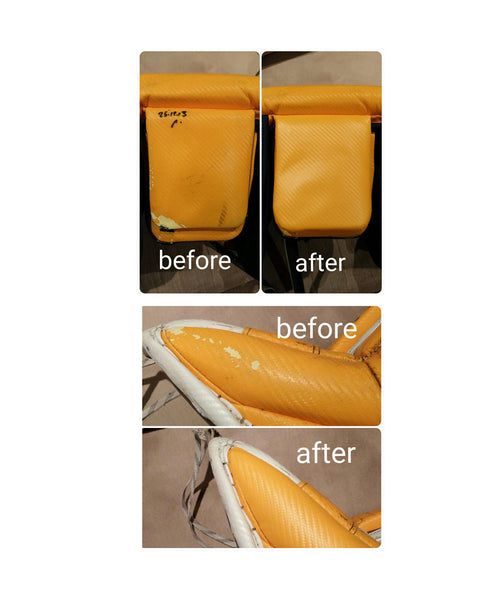 PAD SKINZ GOALIE PADS CUSTOMIZATION