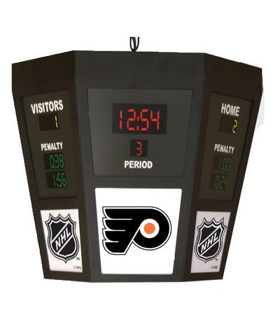 PHILADELPHIA FLYERS OCTOGONAL SCOREBOARD LIGHT