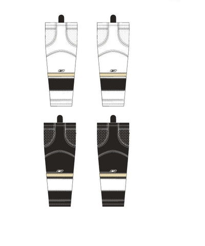 REEBOK EDGE PITTSBURGH JR HOCKEY SOCKS