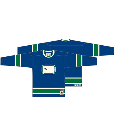 CCM CLASSIC VANCOUVER CANUCKS 1972 SR SWEATER