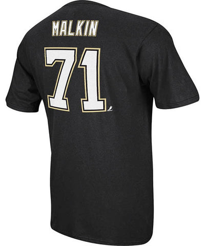 REEBOK PITTSBURGH PENGUINS MALKIN #71 SR T-SHIRT
